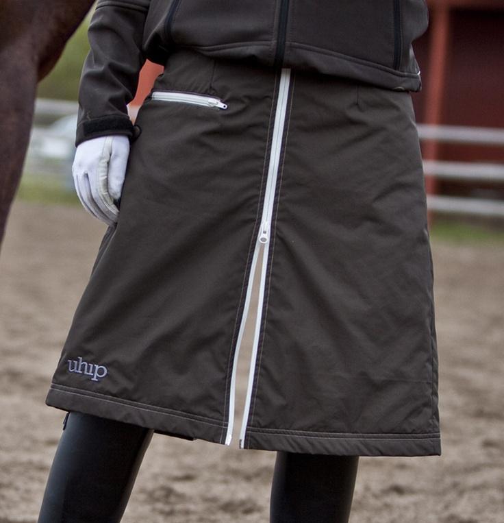 Uhip-täckkjol för ryttare.: Horses Out