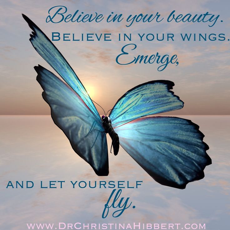 Becoming the Butterfly-The Powerf of Personal Transformation www.DrChristinaHibbert.com