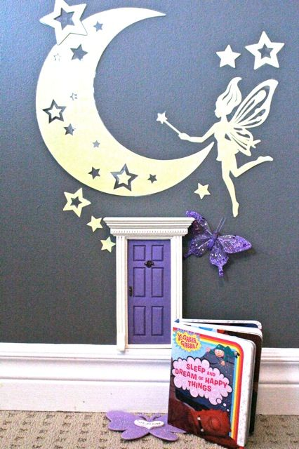 Help your children sleep through the night (or in their own bed) with the help of the 'lil fairies with a 'lil Fairy Door. Attach the 'lil Fairy Door in a special place in your home and invite the fairies in!  ('lil Fairies are known to leave encouraging notes or letters to help children deal with sleeping issues so that they feel more at ease with going to sleep)