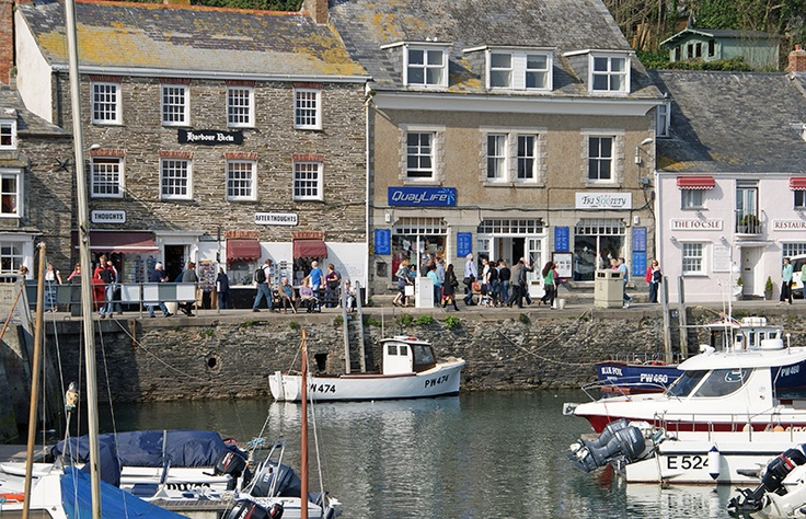 North quay, Padstow.
