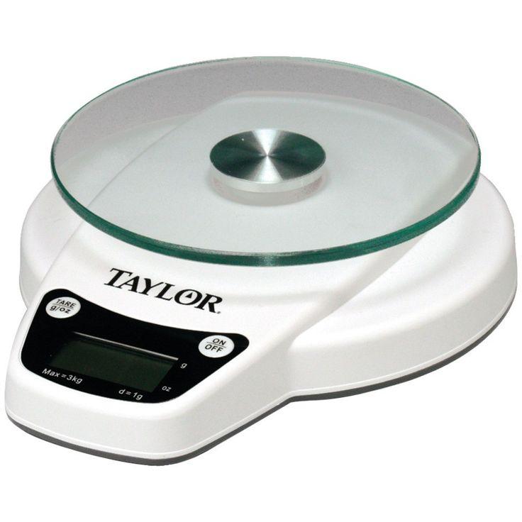 Taylor 6lb Capacity Digital Kitchen Scale