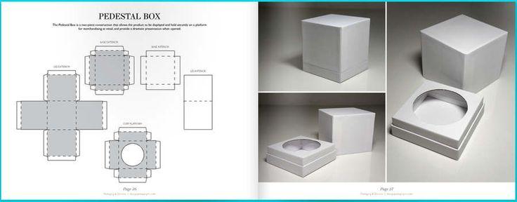 Un libro gratuito que tiene más de 100 patrones o modelos de cajas, bolsas y distintos tipos de contenedores.