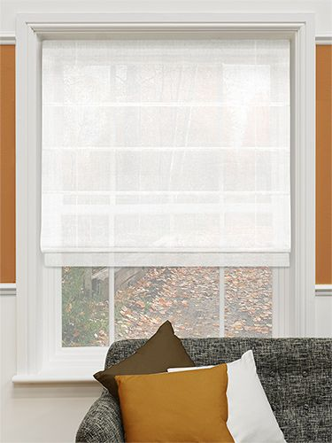 Harmony Voile Sugar Roman Blind from Blinds 2go