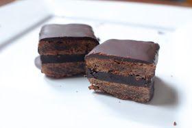 Bibimini smakuje: Potrójnie czekoladowe ciastka (z czekoladą)