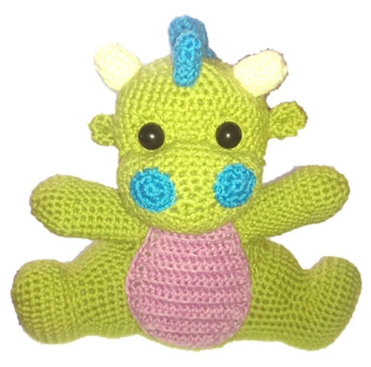214 besten Crochet Dragons Bilder auf Pinterest | Drachen ...