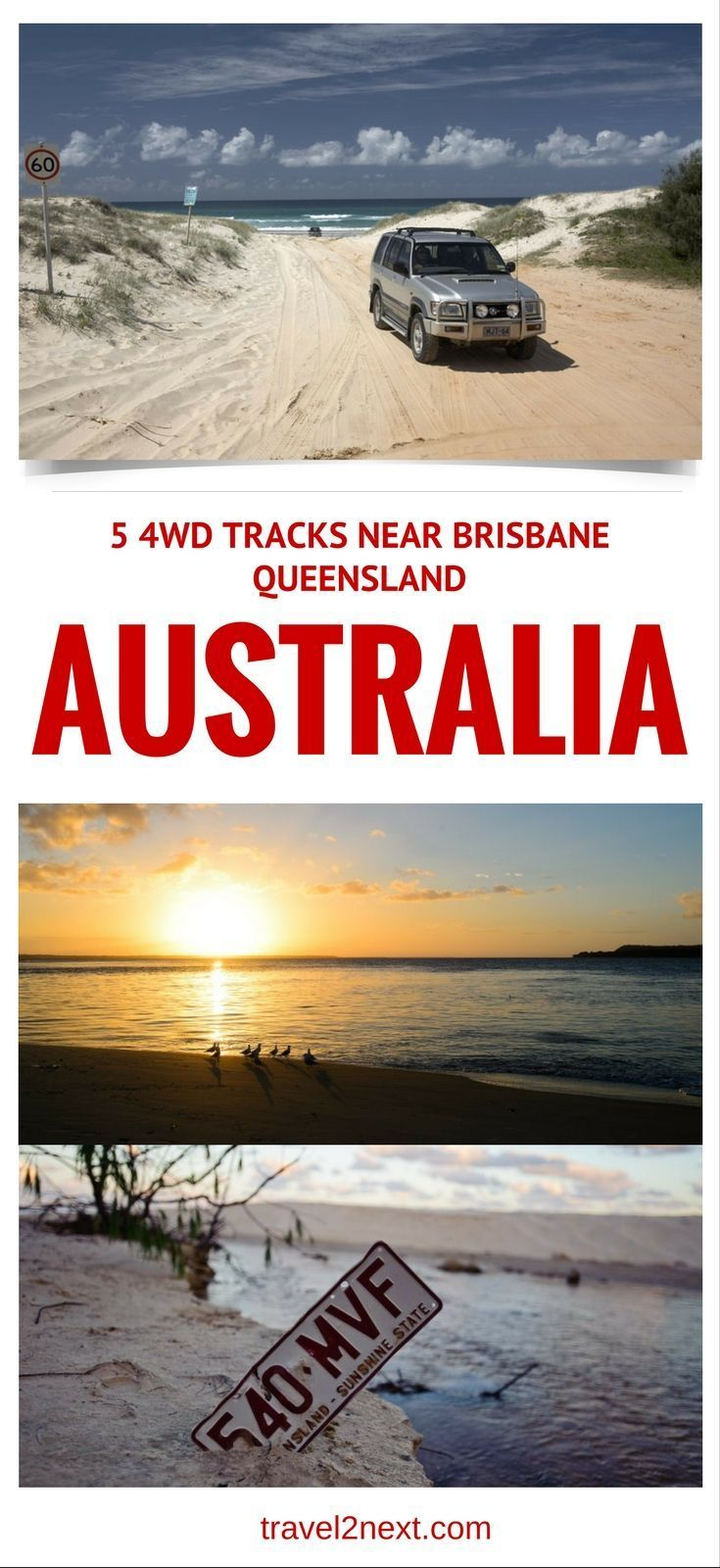 5 great 4WD tracks around Brisbane, Queensland. Winner of the Australian Society of Travel Writers 2014 Best Travel Book award, Danielle Lancaster, shares five tracks from her book 4WDTreks Close to Brisbane.