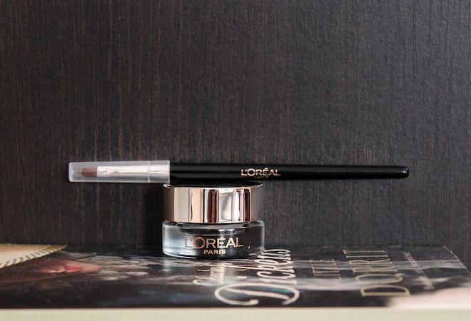 Loreal gel eyeliner review on www.toughlookdonthurt.blogspot.com