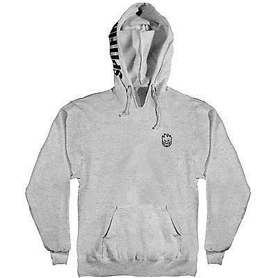 Men 159067: New Spitfire Bighead Hombre Hooded Pullover Skate Sweatshirt (Gunmetal) Large -> BUY IT NOW ONLY: $59.99 on eBay!