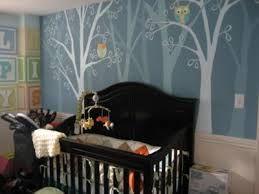Gradient painted trees