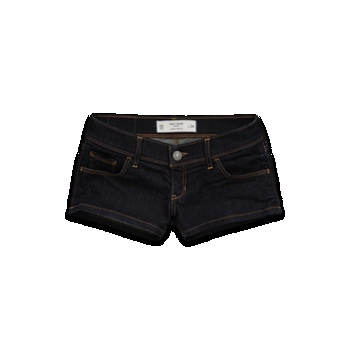 really dark jean shorts from Gilly Hicks. Could potentially make a really cute outfit with these :)