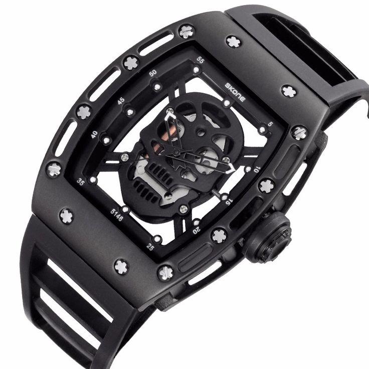Pirate Skull Quartz Watch //Price: $29.69 & FREE Shipping //     #skull #skullinspiration #skullobsession #skulls