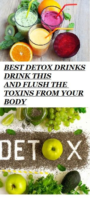 Flush the fat away with these detox drinks! #HealthyDrinks #HealthyLifestyle #BestDrinks