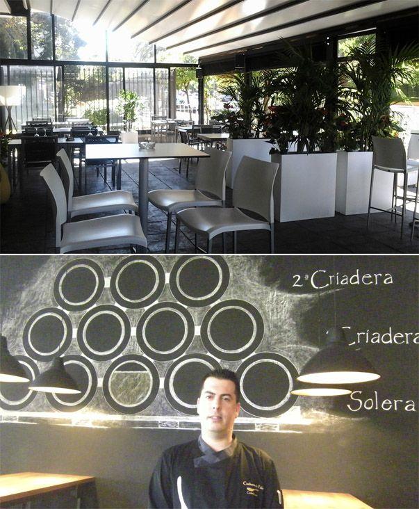 Cuchara de Palo es el nombre que ha elegido el cocinero Carlos Herrero para su establecimiento que ha abierto en la avenida Domecq. Ofrece comida innovadora y no faltan propuestas llamativas como unos chicharrones de Chiclana con pesto de tomate y queso payoyo. Toda la información sobre Cuchara de Palo en el enlace. http://www.cosasdecome.es/guia-de-establecimientos/cuchara-de-palo/#.VZTyDka1d6I