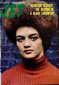 Jet On The Cover Kathleen Cleaver Of The Black Panther