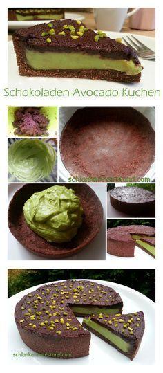 Schokoladen-Avocado-Kuchen
