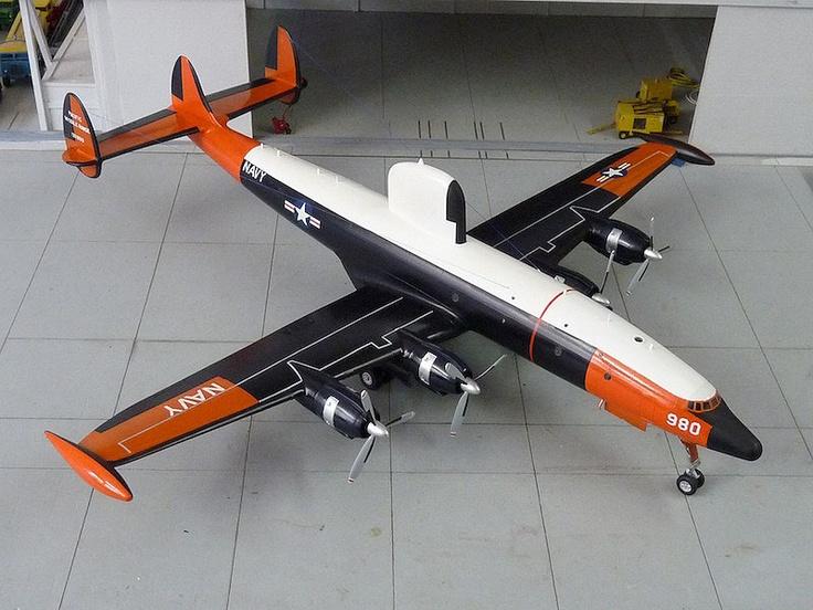 warning star aircraft | Lockheed EC-121 Warning Star. [Heller] | leo