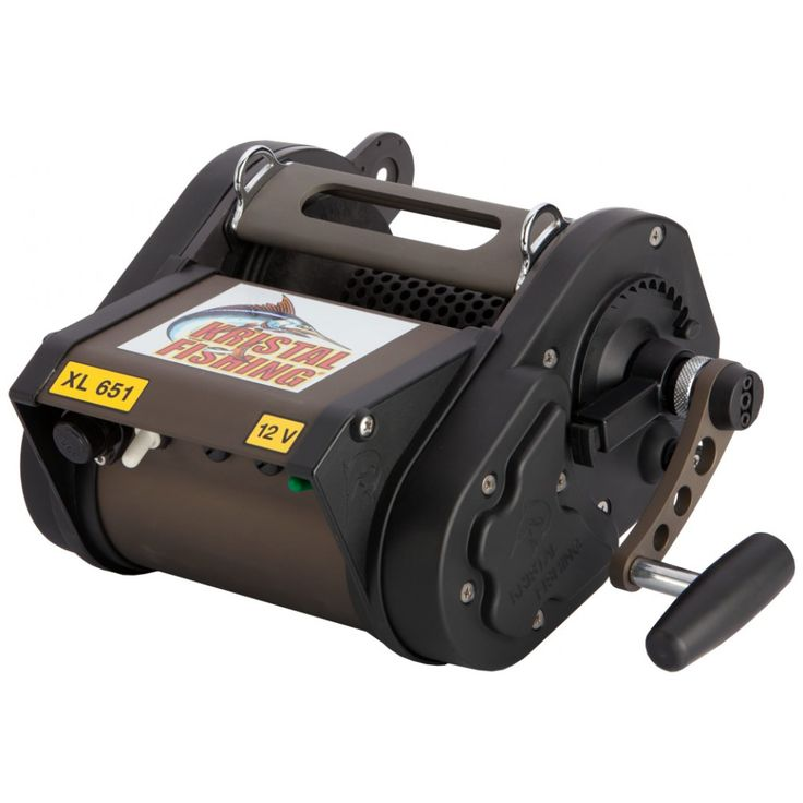 Carrete eléctrico Kristal Fishing XL 651 M. Su inmensa potencia y la extraordinaria capacidad lo convierten en la elección ideal para los pescadores .