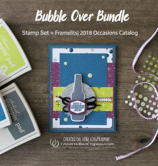 The Stamp Review Crew: Bubble Over  #rubberredneck #stampinup #cards #papercrafts #stampreviewcrew #bloghop #bubbleover #bubbleoverbundle #crafts #2018Occasionscatalog #rubberstamping #handmadecards #stampinupdemonstrator