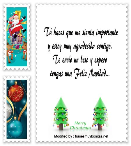 Descargar frases bonitas de agradecimiento por saludos de - Saludos de navidad ...