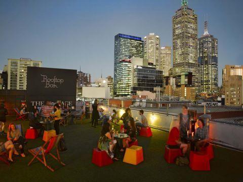 Rooftop Bar, Curtin House, Melbourne, Victoria, Australia