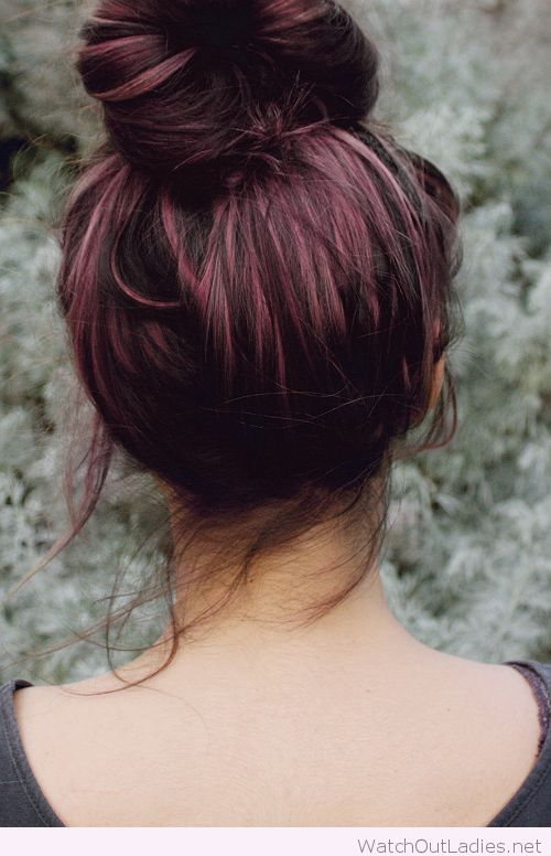 Awesome plum highlights all over