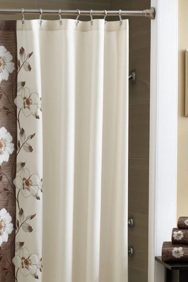 Bathroom Curtain And Rug Sets A Croscill Shower Curtain C