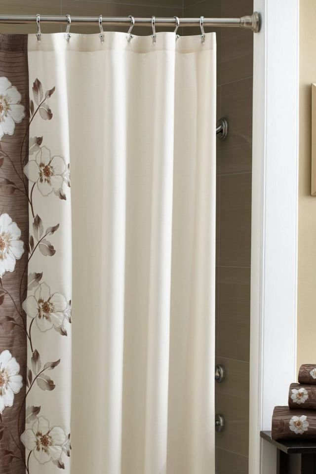 9 luxury bathroom shower curtains