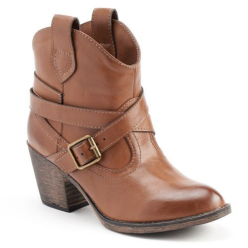 unleashed by rocket s western ankle boots let