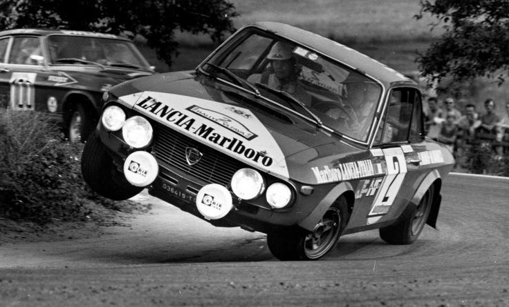 Lancia Fulvia -If the driver didn't poo himself he must have the tightest butthole in existence