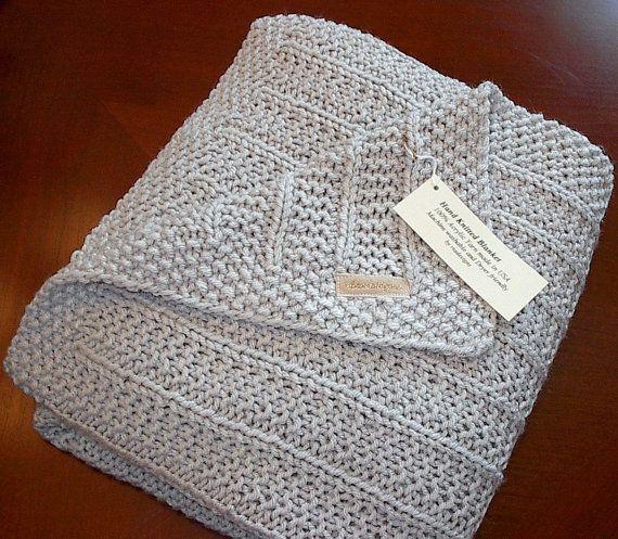 Boy / Girl Blanket, grey blanket, play mat, crib blanket, soft blanket, warm, lightweight, silver color, Baby Throw