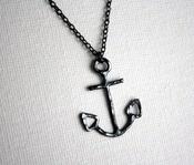 ahoy!: Black Anchors, Oxidized Black, Black Sterling