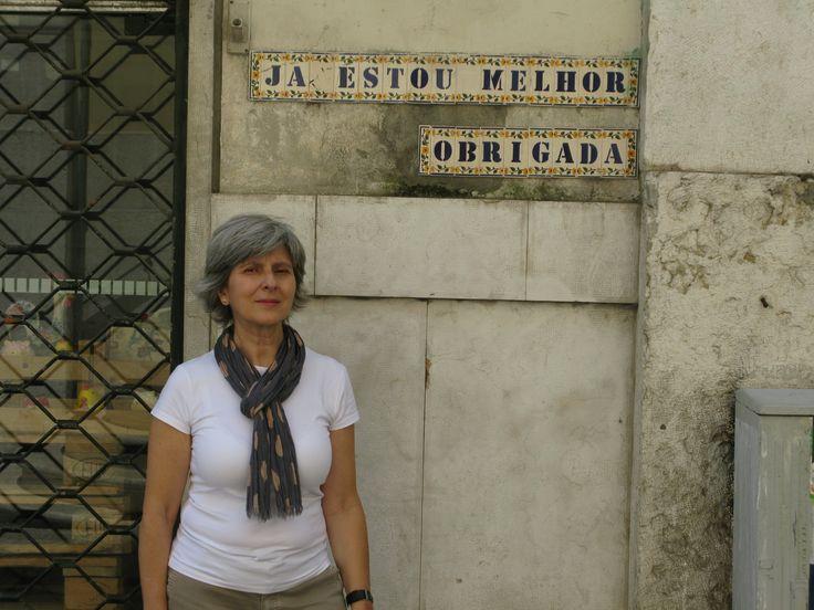 ISABEL CORTEZ - Lisboa | Rua da of Vitória  #Azulejo