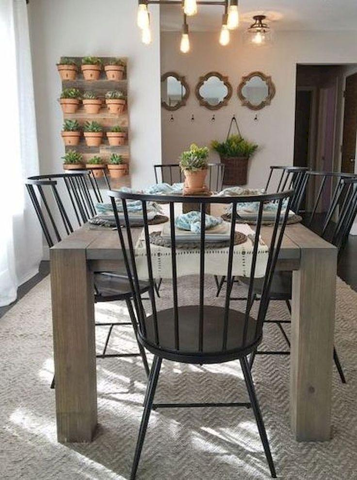 90 Best Modern Rustic Dining Room Decor Ideas