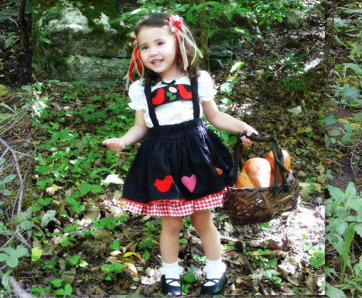 Toddler-Girls Little Red Riding Hood Pageant Costume-OOC-Theme