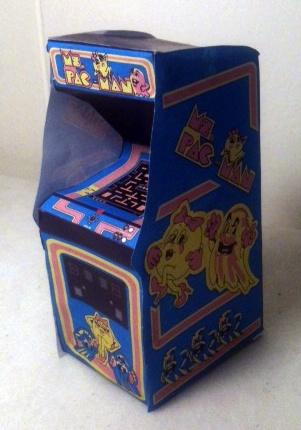 Ms. Pac-Man Papercraft