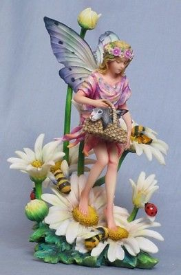 Sheila Wolk Special Delivery Fairy Statue Garden of Enchanted Creatures | eBay