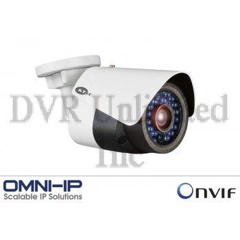 Bullet Cameras : KNC-p3BR4IR 3MP Network IR Rugged Outdoor Mini Outdoor Bullet Camera