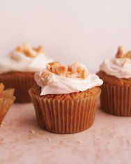 Carrot Cupcakes with Cream Cheese Icing Recipe   Martha Stewart