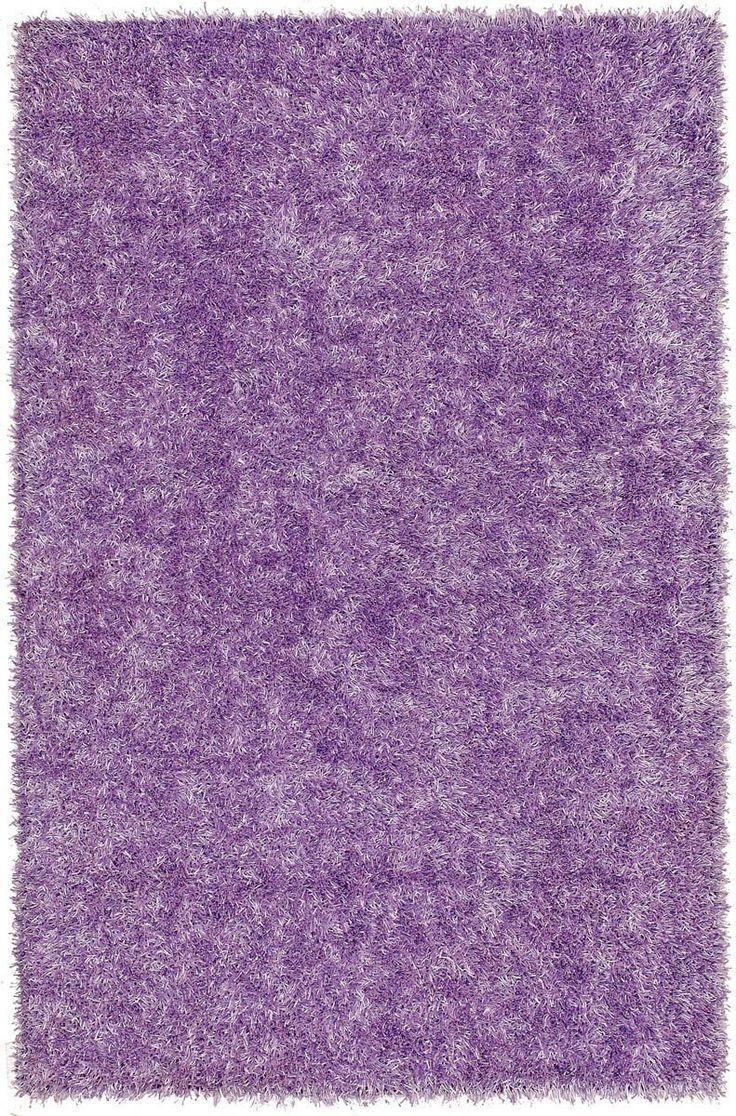 Bright Lights BG69 Lilac Purple Shag Rug