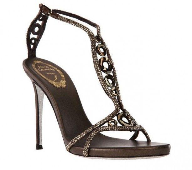 Sandali gioiello Renè Caovilla terra