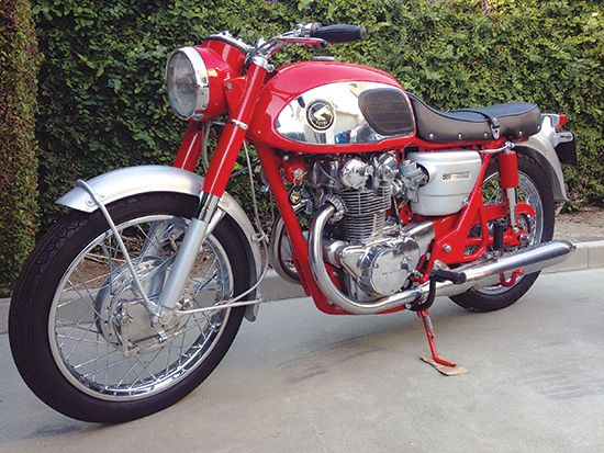 1966 Honda CB450K0 Red Dragon - Classic Japanese Motorcycles - Motorcycle Classics