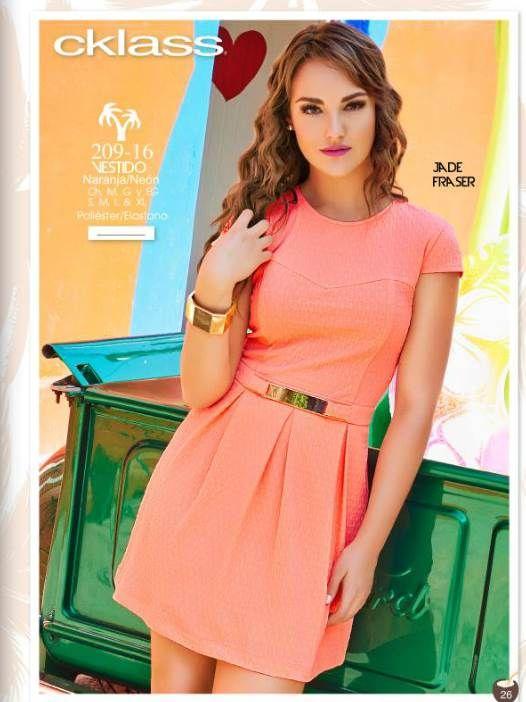 Catalogo cklass ropa de moda primavera verano 2015 neon - Colores de moda ...