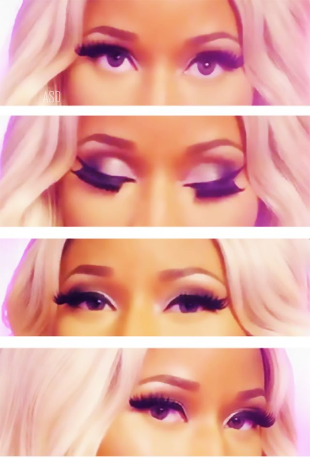 Nicki minaj has  beautiful eyes