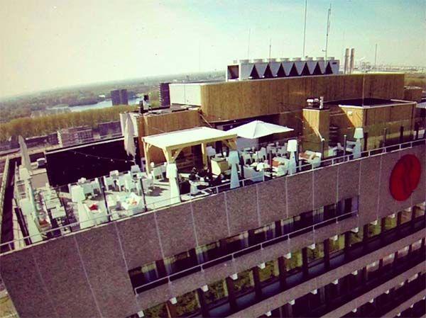 Floor 17 highest rooftop bar in Amsterdam