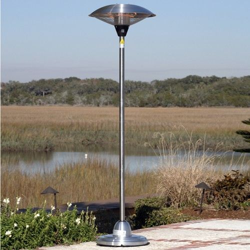 Stainless Steel Infrared Electric Patio Heaters Are Substantially Less  Expensive To Operate Than Propane Gas Patio