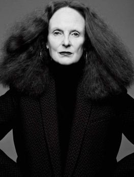 Grace Coddington - Interview by Craig McDean, December/January 2012-13
