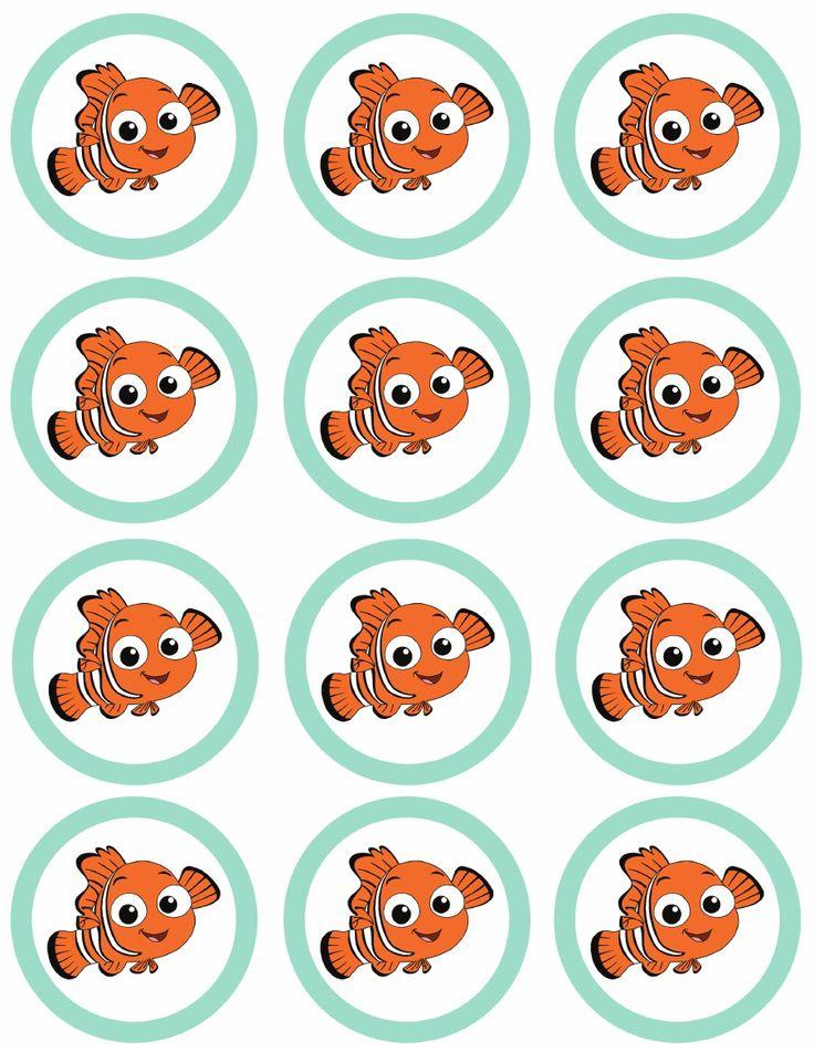 Free Finding Nemo tags printable! #findingnemo #findingdory #nemo