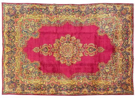 Красный персидский ковер