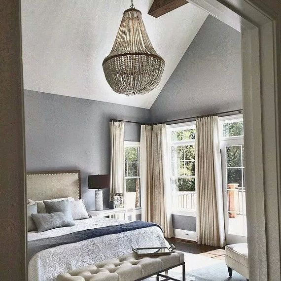 SImply beautiful Chandelier from Au Courant Interiors used by Elements of  Style Interiors, Greensboro,