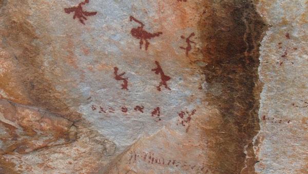 Ceres Zipslide Adventures - Bushman paintings